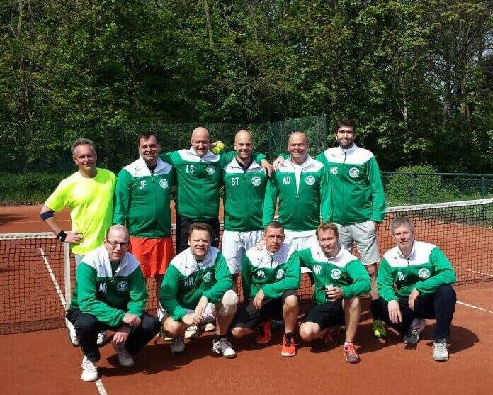 Herren 40 Medenmannschaft beim´TuS Nord Düsseldorf